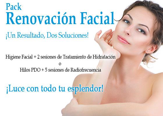 renovación facial