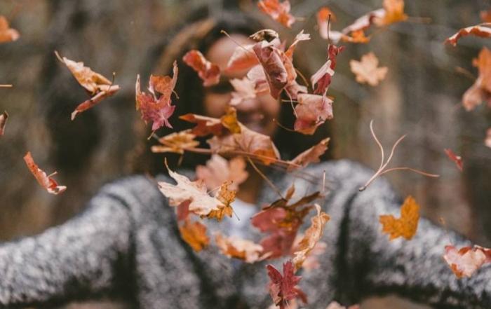 otoño y belleza